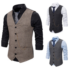 Vest, waistcoatsformen, Dress, Slim Fit