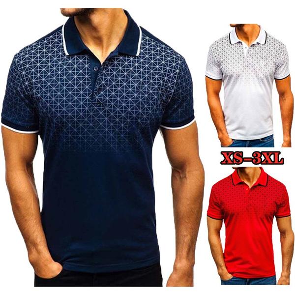 mens ties, Summer, polo men, men's cotton T-shirt