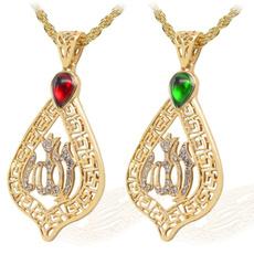 Necklace, DIAMOND, gemstonenecklace, muslimreligiousnecklace