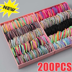 hair, Nylon, Elastic, candy color