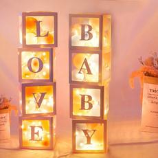 Box, decoration, Love, balloonboxe
