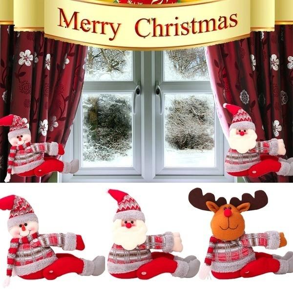 Christmas, Home & Living, Santa Claus, button