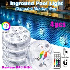 aquariumdecor, lightsforswimmingpool, Remote, submersiblelight
