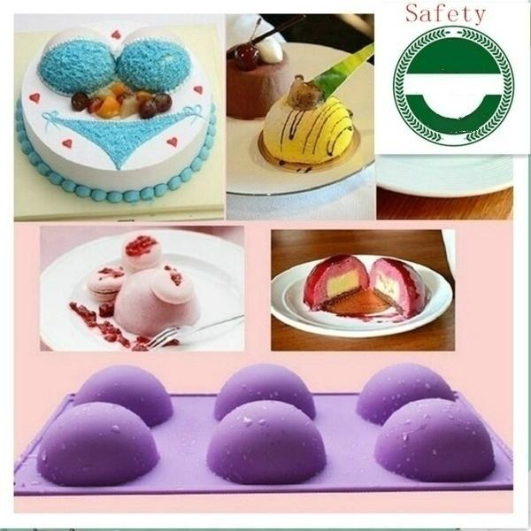 Baking, chocolatemould, cakedecorationmold, roundmold