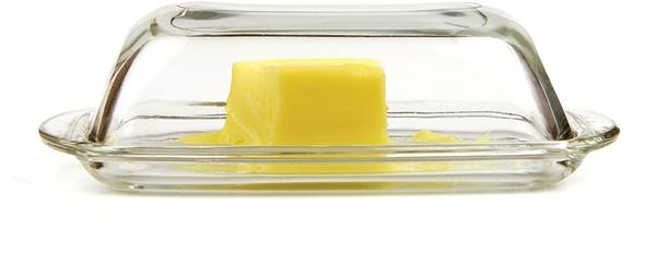 Butter, Glass, butterdish, glassbutterdish