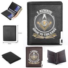masonic, Shorts, Gifts, leather wallet