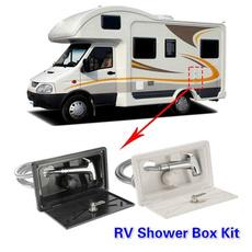 Box, rv, rvaccessorie, campershowerfaucet
