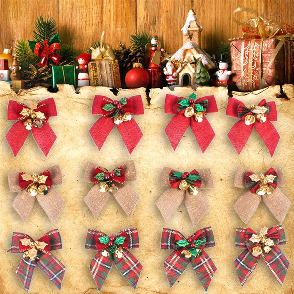 decoration, bowwithbell, Garland, Gifts