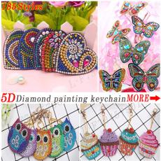 keychainskeyring, DIAMOND, Key Chain, Jewelry
