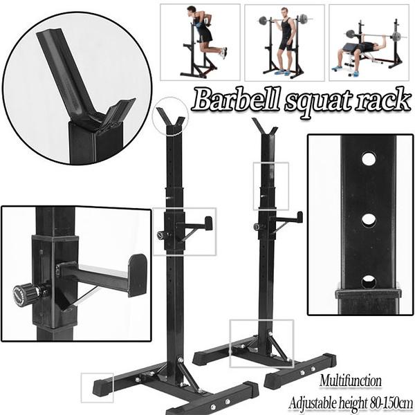 Steel, weightbench, squatrack, barbellsquatrack