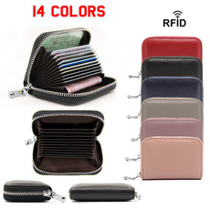 Capacity, multifunctioncardcase, largecapacitycardholder, ladieszipperbag