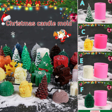 christmasmold, Christmas, Silicone, Santa Claus