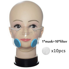 Silicone, dustmask, shield, faceshield