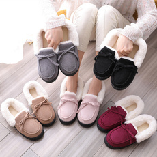 plushboot, fluffy, Indoor, Winter Slippers
