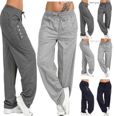 harem, Loose, Yoga, Casual pants