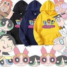 Kawaii, thepowerpuffgirl, printed sweatshirt, Pullovers