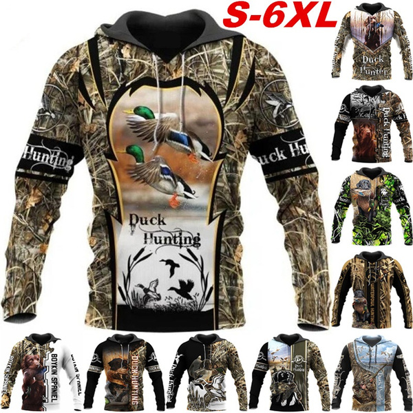 3D hoodies, Fashion, Hunting, doghoodiecoat