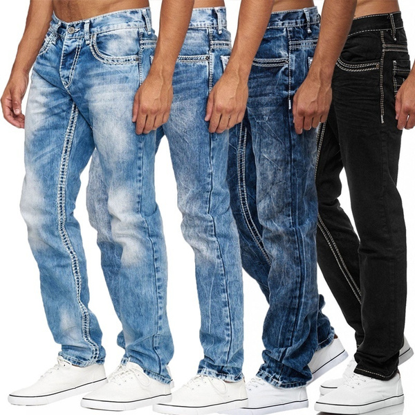 men jeans, Plus Size, midwaistjean, men trousers