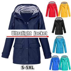 casual coat, Pocket, Outdoor, Ladies Fashion