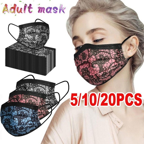 surgicalfacemask, Fashion, mouthmask, Lace