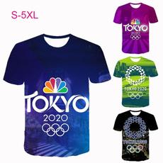 olympicsshirt, Round neck, Shorts, Necks