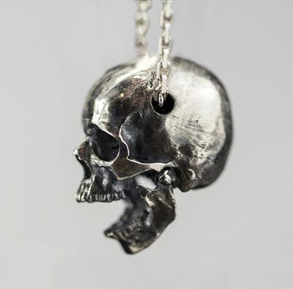 Steel, Party Necklace, skullnecklace, necklaces for men
