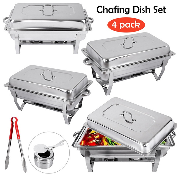Steel, buffetcatering, waterpan, dishset