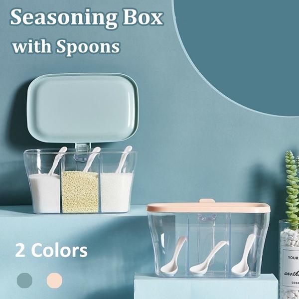 Box, seasoningstoragebox, Kitchen & Dining, spicescontainer
