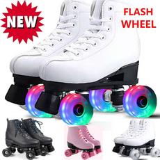 rollerskate, leather, Shiny, flashskate