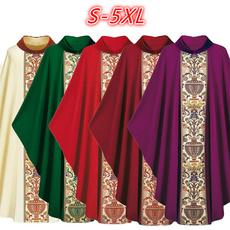 Vintage, priestcape, Plus Size, plaincollar