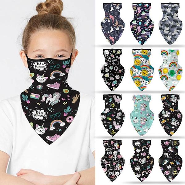 rainbow, kidsbandana, Necks, scarfmask