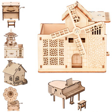 Toy, Gifts, Wooden, Puzzle