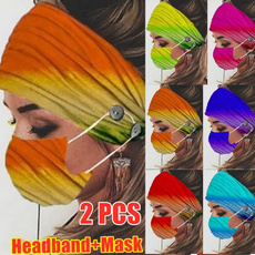 headbandandmask, facemaskholder, Elastic, Beauty