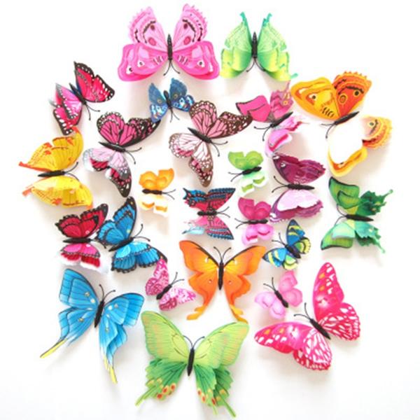 butterfly, simulationbutterfly, butterflywallsticker, Fashion