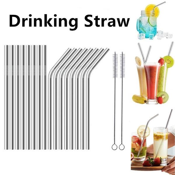 Steel, juicestraw, straw, Stainless Steel