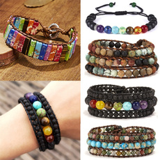 Bracelet, Yoga, Jewelry, leather