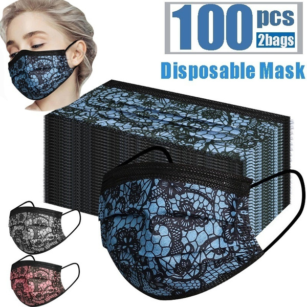 Summer, Outdoor, dustmask, Lace