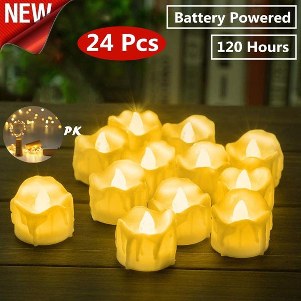 led, Bottle, candleslamp, Battery