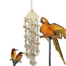 Toy, parrotcagetoy, hangingwoodenproduct, birdtoy