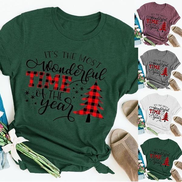 Shorts, Cotton, Christmas, Sleeve