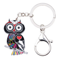 birdkeyringspendant, Owl, keychainsforwomen, purses