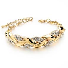 Charm Bracelet, leaf, Jewelry, Chain