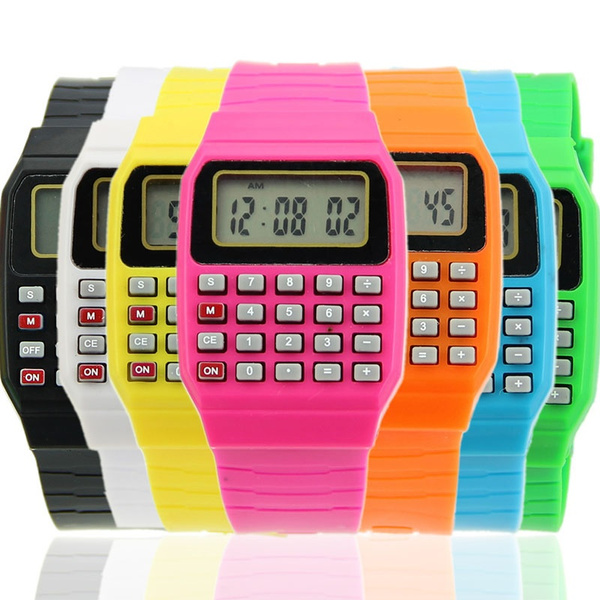 LED Watch, kidswatch, School, calculatorwatch