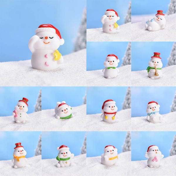 snowmandecoration, gerdendecoration, Decor, Christmas