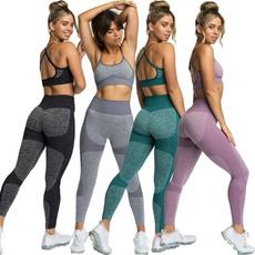 sportsvest, Leggings, Yoga, Waist
