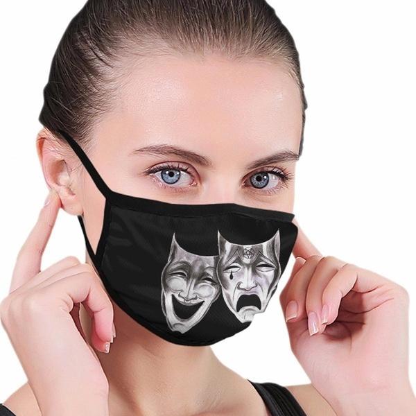 dustrespirator, pollutionmask, blackmask, unisex