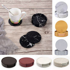Set, Coasters, Cup, Waterproof