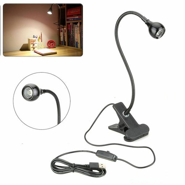 led, usbclipontablelamp, ledreadinglight, lights