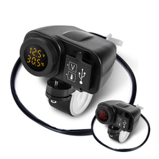 motorcycleaccessorie, led, usb, charger