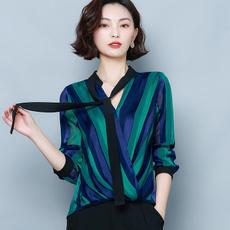 decote, superior, feminino, Shirt